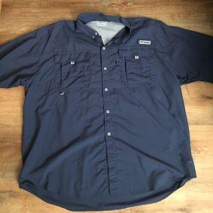 2 Columbia PFG shirts